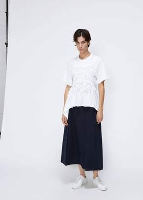 Simone Rocha Ruched Easy T-Shirt