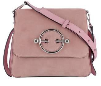 J.W.Anderson Pink Suede Shoulder Bag