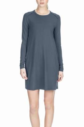 Lilla P Long Sleeve Shift Dress