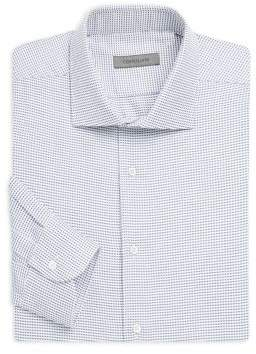 Corneliani Dotted Regular Fit Dress Shirt