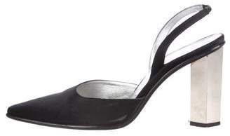 Walter Steiger Pointed-Toe Slingback Pumps