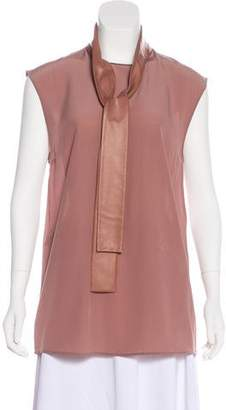 Gucci Silk Sleeveless Top