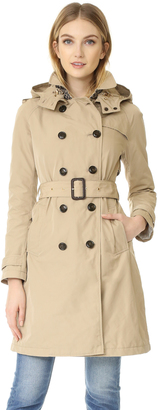 Woolrich Fayette City Trench Coat $695 thestylecure.com