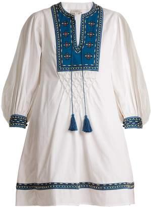 TALITHA Ilaria bead-embellished cotton dress