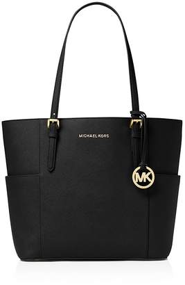MICHAEL Michael Kors Jet Set Large Leather Tote