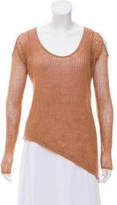 Helmut Lang Asymmetrical Cold Shoulder Sweater