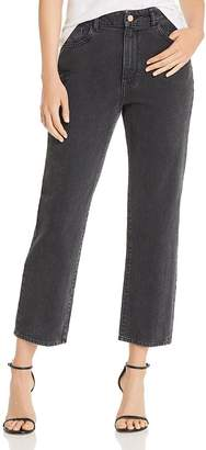 Marianna DL1961 x Hewitt Jerry High-Rise Vintage Straight Jeans in Salina