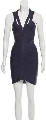 Herve Leger Mini Bandage Dress