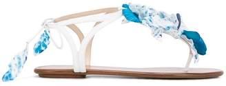 Aquazzura 'Flora' flat sandals
