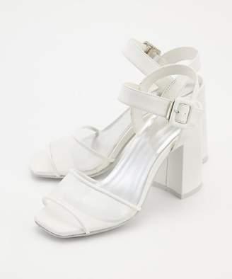 99dc4428403 SLY(スライ) ホワイト サンダル - ShopStyle(ショップスタイル)