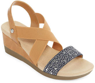 ST. JOHN'S BAY Warner Womens Wedge Sandals