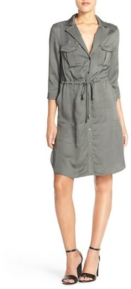 Women's French Connection Woven Shirtdress $148 thestylecure.com