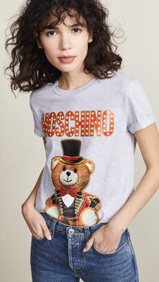 Moschino Tophat Bear Tee