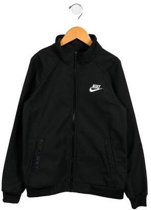 Nike Girls' Zip-Up Athletic Jacket