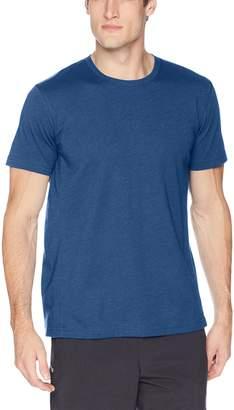 Peak Velocity Men's Performance Cotton Short Sleeve Quick-dry Loose-Fit T-shirt