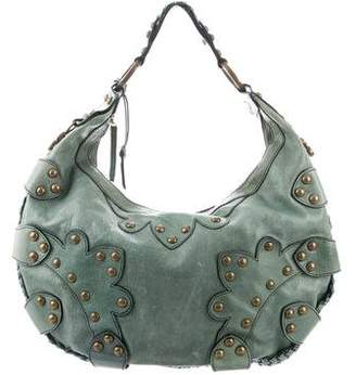 Isabella Fiore Oasis Studded Distressed Bag