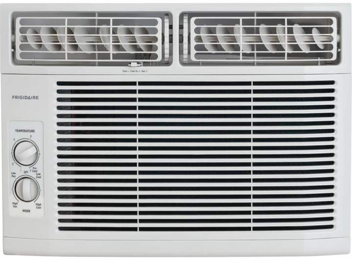 Frigidaire 10,000 BTU Window-Mounted Mini-Compact Air Conditioner with Mechanical Controls