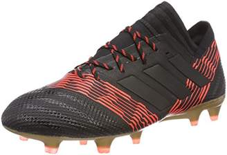 brand new 08314 fac3e adidas Men s Nemeziz 17.1 Fg Footbal Shoes, Black Cblack Solred