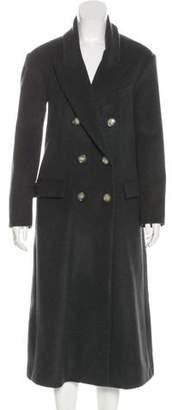 Isabel Marant Virgin Wool Long Coat