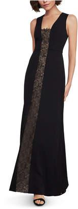 BCBGMAXAZRIA Lace-Inset Gown