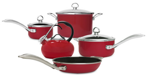 Chantal Chantal Fusion 7 Piece Non-Stick Cookware Set