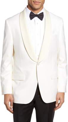 Hickey Freeman Classic B Fit Wool Dinner Jacket