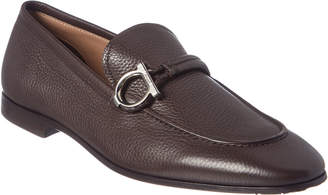 Salvatore Ferragamo America Gancini Leather Loafer