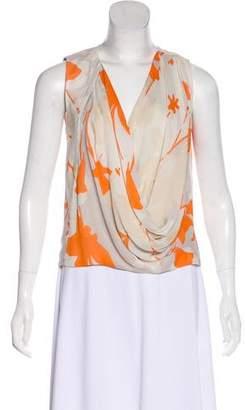 b8559e2d0c700 Diane von Furstenberg Orange Women s Shortsleeve Tops - ShopStyle