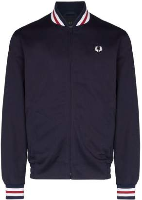 Fred Perry zip-up bomber jacket