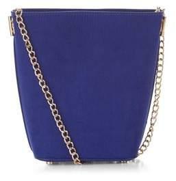 New Look Blue Mini Bucket Bag