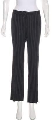 Dolce & Gabbana Strips Low-Rise Straight Pants