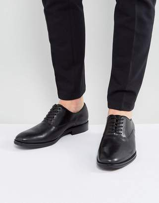 Aldo Eloie Oxford Leather Shoes In Black