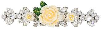 Dolce & Gabbana floral embellished hairclip