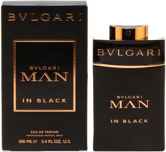Bvlgari Men's 3.4Oz Man In Black Eau De Parfum Spray