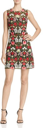 Lucy Paris Sleeveless Marina Embroidered Dress $108 thestylecure.com