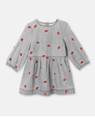 Stella McCartney Ladybug Embroidery Dress