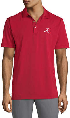 Peter Millar Men's University of Alabama Solid Stretch Jersey Polo
