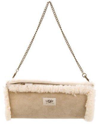 UGGUGG Australia Shearling-Trimmed Mini Bag