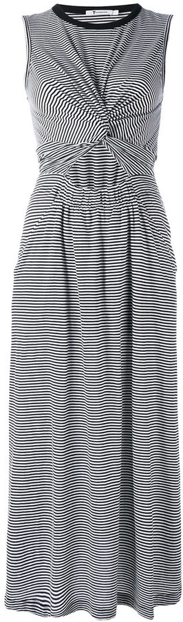 Alexander Wang T By Alexander Wang striped T-shirt dress