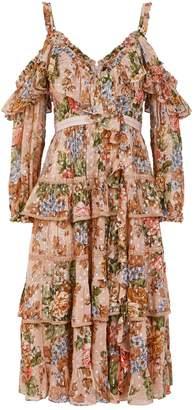 Needle & Thread Paradise Rose Midi Dress