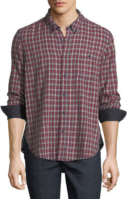 Velvet Flannel Cotton Sport Shirt