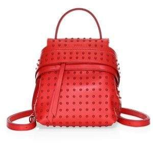 Tod's Mini Gommino Wave Leather Backpack