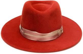Maison Michel Thadee flat brim hat