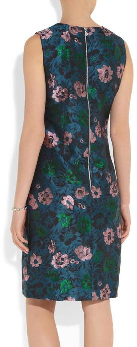 Erdem Lowry jacquard dress