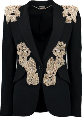Alexander McQueen Beaded Cocktail Blazer