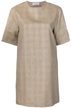 Sonia Rykiel check straight fit dress
