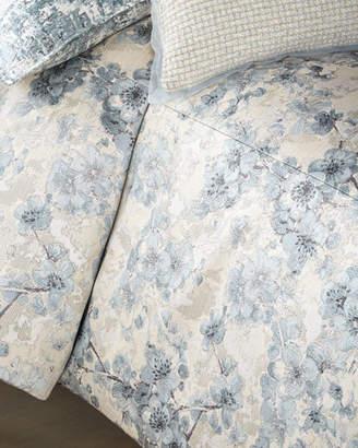 Fino Lino Linen & Lace Blossom Super King Duvet