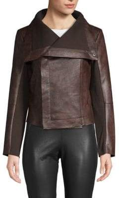Vigoss Knit Panel Moto Jacket