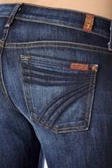 7 For All Mankind Dojo Original Trouser In Midnight New York Dark (Short Inseam)