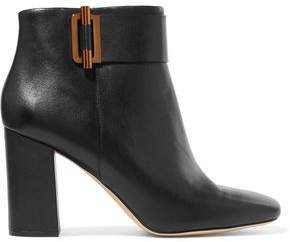 MICHAEL Michael Kors Embellished Leather Ankle Boots
